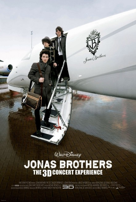 Jonas Brothers Concert Experience Poster Movie