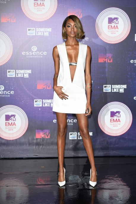 Mtv Emas Red Carpet Fashion Celebrity Style Jourdan Dunn Beach