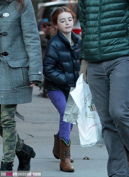 Julianne Moore And Family Head Out And About In Nyc Family