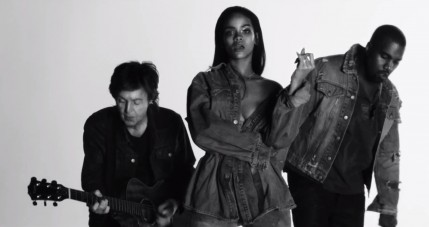 Rihanna Kanye West Paul Mccartney Fourfiveseconds Music Video Music