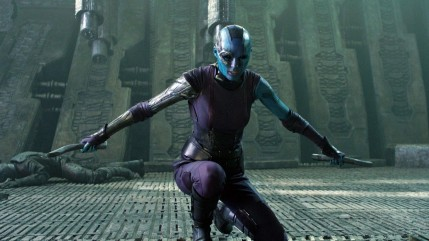 Guardians Of The Galaxy Karen Gillan Nebula Guardians Of The Galaxy