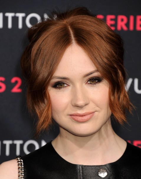 Karen Gillan Attends Louis Vuitton Series The Exhibition In Hollywood