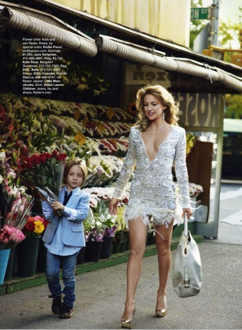 Kate Hudson Fashion Editorials Fashion