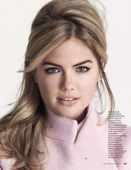 Kate Upton Photoshoot For Elle Italia January