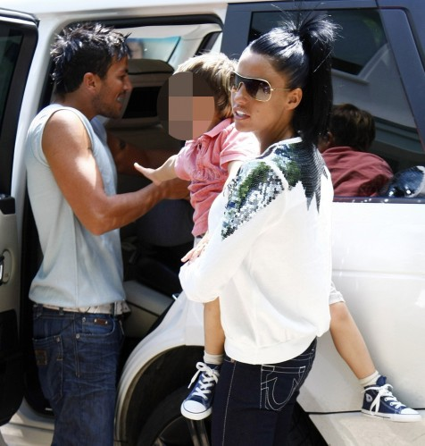 First Photos Katie Price Peter Andre Children Since Her Interview About Miscarriage Peter Responds Children