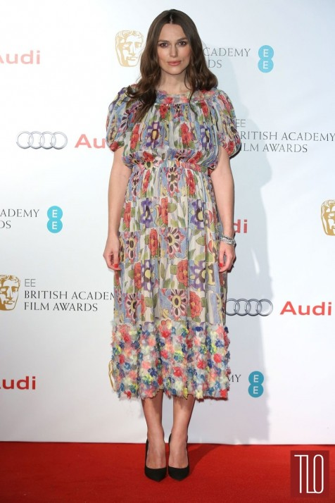 Keira Knightley Bafta Party Red Carpet Fashion Chanel Tom Lorenzo Site Tlo