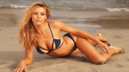 Kelly Rohrbach Sports Illustrated Swimsuit Beach