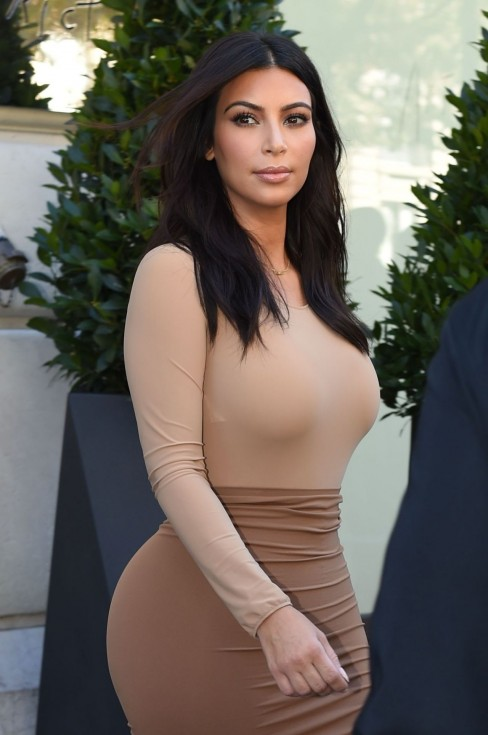 Kim Kardashian Style Out In Paris September