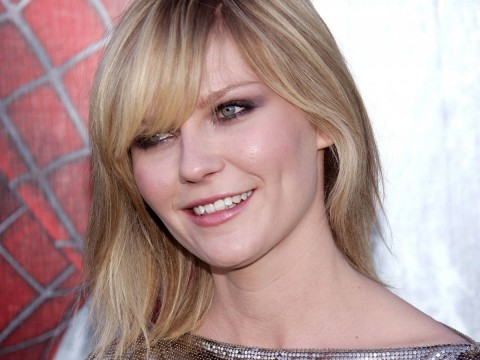 Kirsten Dunst Face Smile Wallpaper Customity Teeth