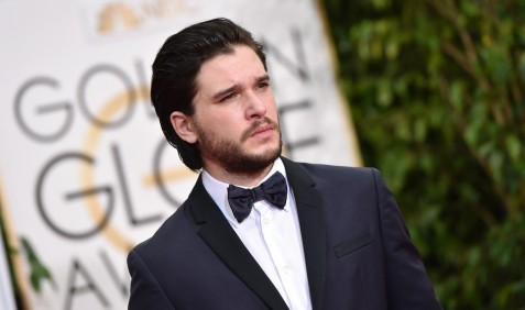 Kit Harington At The Golden Globes