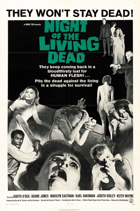 Night Of The Living Dead Poster Movie