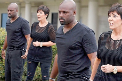 Main Kris Jenner And Corey Gamble Look Like They Are Taking Their Rumored Relationship To The Next Level As They And Corey Gamble