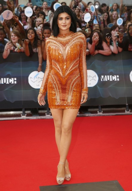 Kylie Jenner Arrives On The Red Carpet To Host The Muchmusic Video Awa Hot