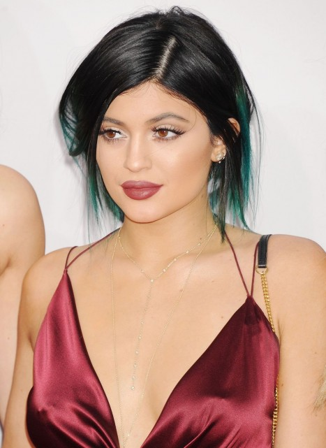 Kylie Jenner Attends The American Music Awards In Los Angeles