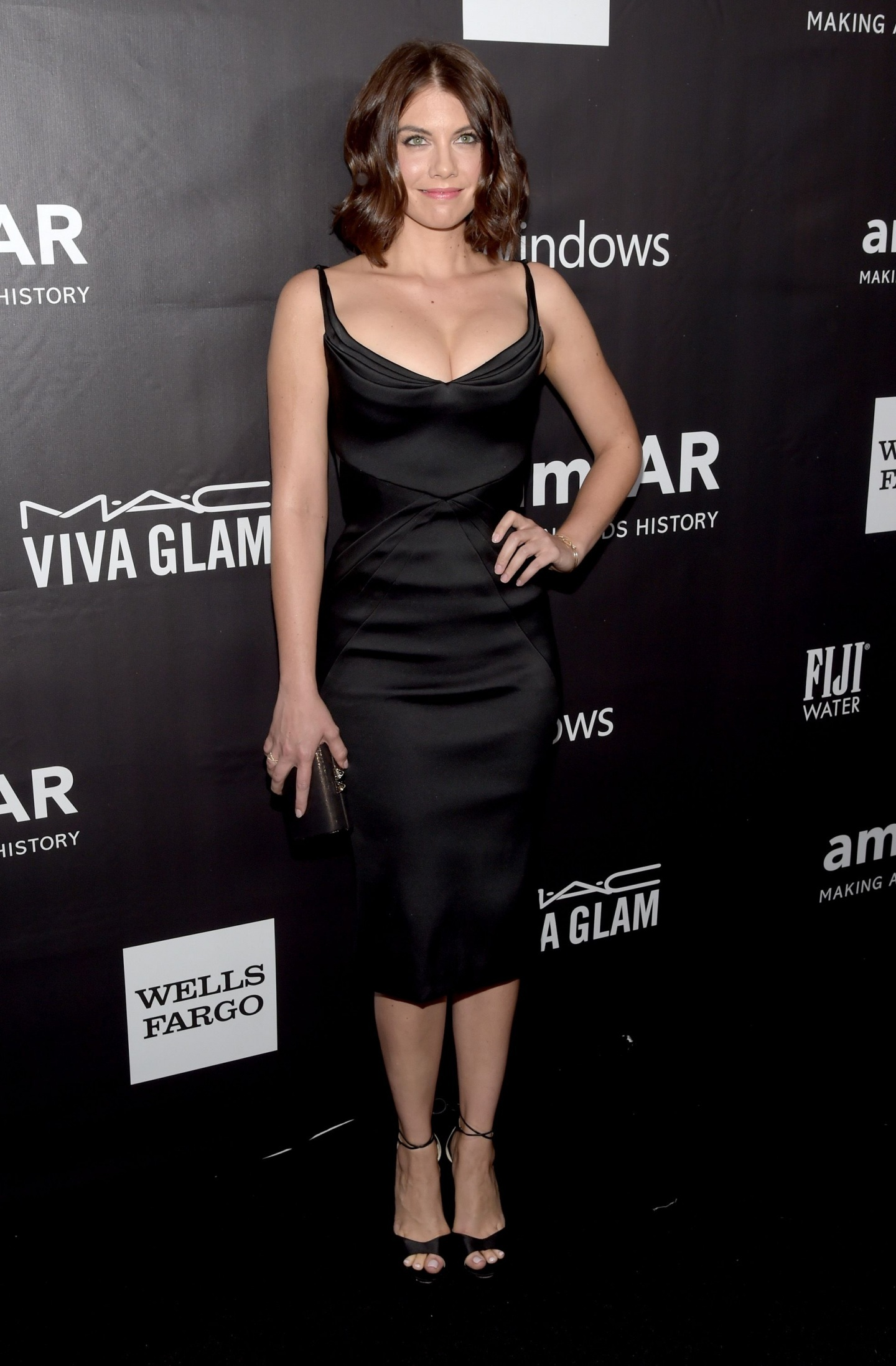 Lauren Cohan Amfar La Inspiration Gala In Hollywood