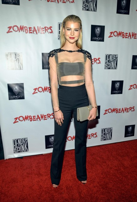 Lexi Atkins At Event Of Zombeavers Large Picture Cortney Palm