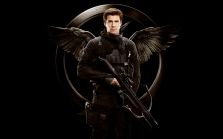 Liam Hemsworth As Gale Hawthorne Wide Wallpaper