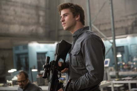 The Hunger Games Mockingjay Part Liam Hemsworth As Gale