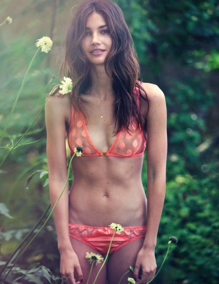 Lily Aldridge Gq Uk November