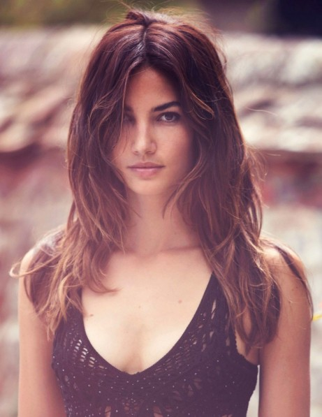 Lily Aldridge Promoshoot For Gq Uk November Hair