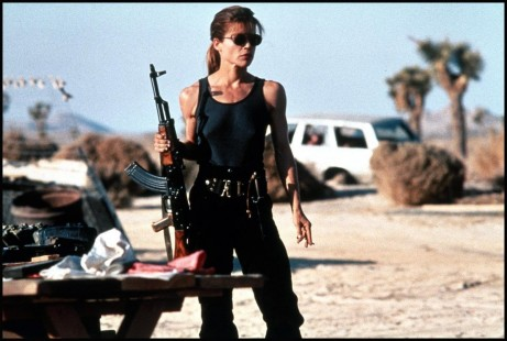 Terminator Linda Hamilton Sarah Connor Terminator Plot Revealed Emilia Clarke The Genisys Of Sarah Connor