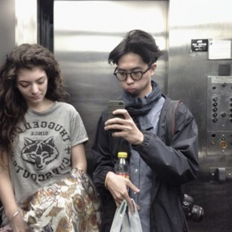 Lorde Et Son Boyfriend James Lowe Dans Un Ascenceur And James Lowe