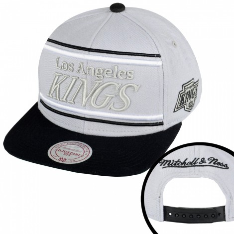 Mitchell And Ness Winner Los Angeles Kings Herren Snapback Cap Grau Schwarz Mitchell And Ness Snapback