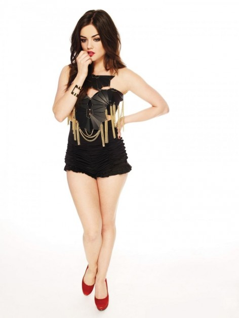 Full Lucy Hale Body