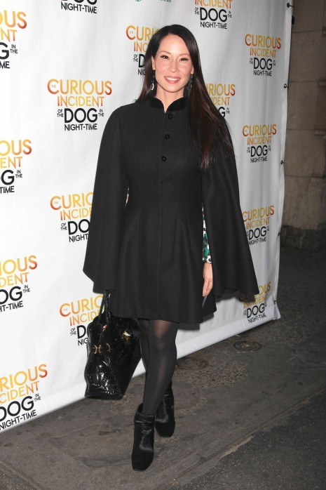 Lucy Liu The Curious Incident Of The Dog In The Night Time Opening Night