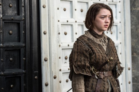 Game Of Thrones Season Maisie Williams As Arya Stark