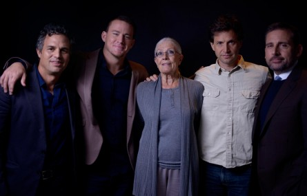 Vanessa Redgrave Steve Carell Bennett Miller Mark Ruffalo And Channing Tatum At Event Of Foxcatcher Foxcatcher