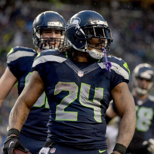 Hi Res Running Back Marshawn Lynch Of The Seattle Seahawks Crop Exact