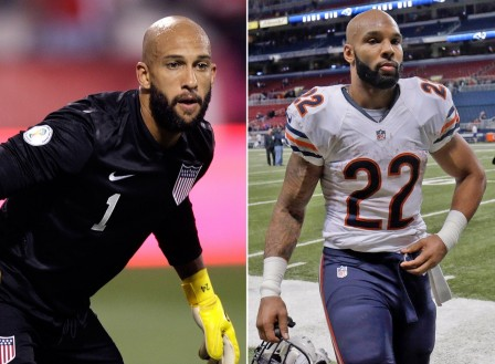 Tim Howard Bearded Matt Forte Pg