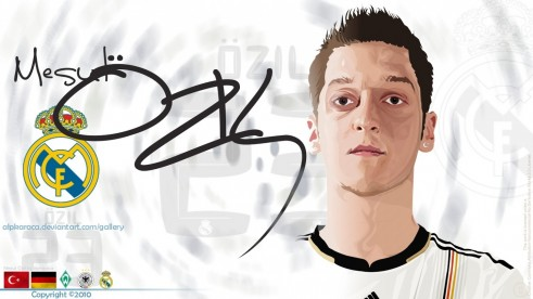 Beautiful Mesut Ozil Real Madrid Full Hd Wallpaper Hd Background Wallpaper