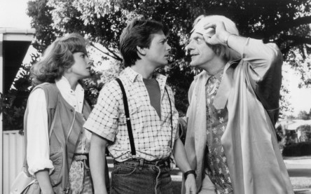 Still Of Michael J Fox Elisabeth Shue And Christopher Lloyd In Back To The Future Part Ii Christopher Lloyd