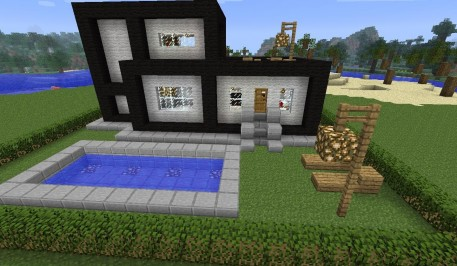 Minecraft Beach Housesmap Modern House With Beach Minecraft Forum Icbl Vmi Houses