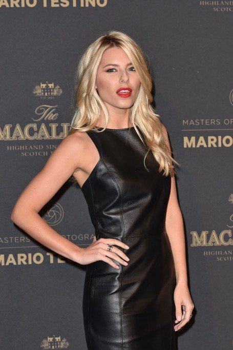 Mollie King Poses At Macallan Masters Of Photography Mario Testino Edition Launch Event London Body
