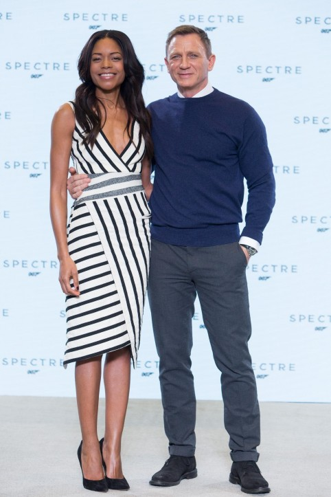Daniel Craig And Naomie Harris At Event Of Spectre
