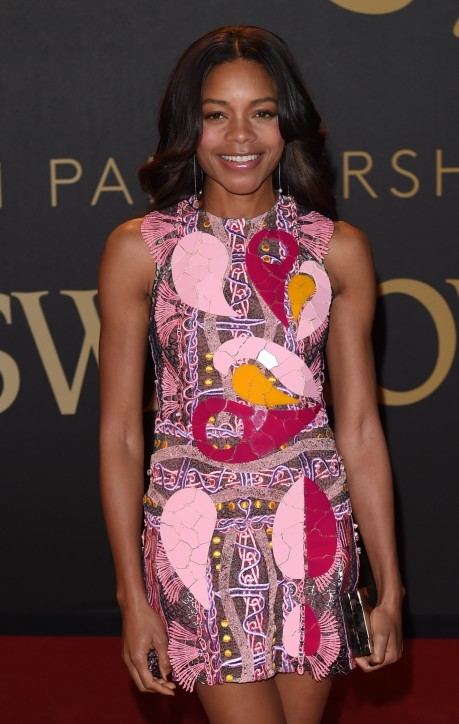 Naomie Harris Attends The British Fashion Awards At London Coliseum In London