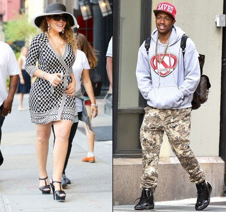 Mariah Carey Nick Cannon Zoom
