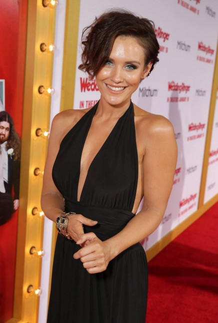 Nicky Whelan Coming To The Wedding Ringer Premiere In Hollywood