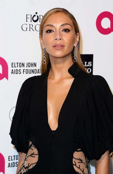 Nicole Scherzinger Elton John Aids Foundation Academy Awards Party