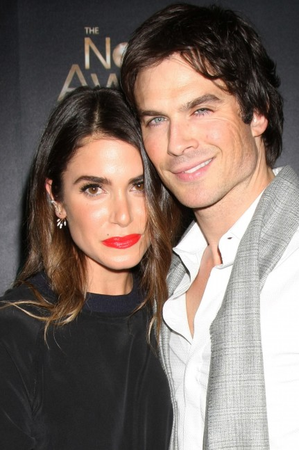 Ian Somerhalder And Nikki Reed Share Kiss In Their Romantic Wedding Video Wedding