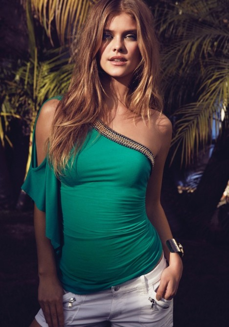 Nina Agdal Bebe Summer Photos Model