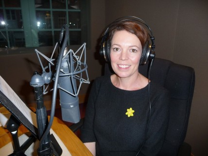 Olivia Colman Great Daffodil Appeal High Res