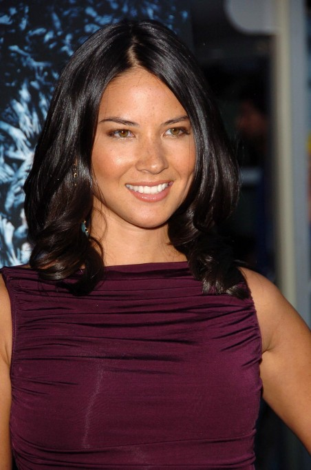 Olivia Munn Medium Length Hairstyle