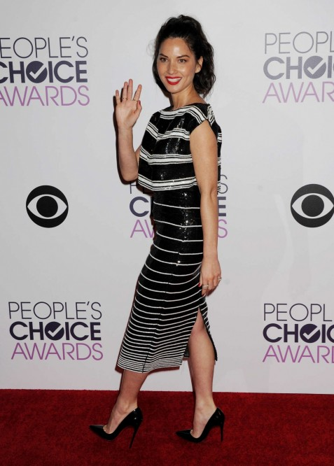 Olivia Munn Peoples Choice Awards