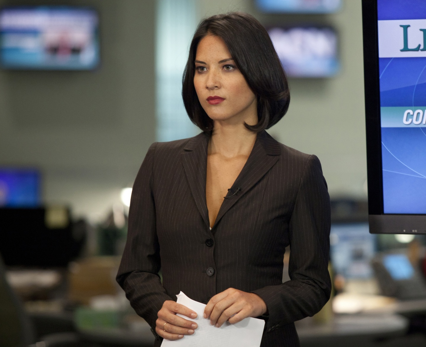 The Newsroom Olivia Munn New Girl
