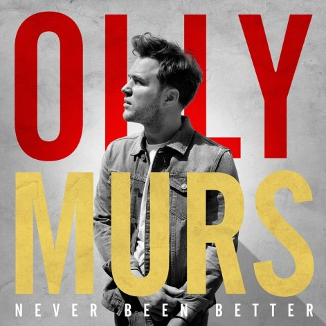 Cover Art Of Olly Murs Latest Album Never Been Better The Japenese Version Of This Album Includes Look At The Sky Music