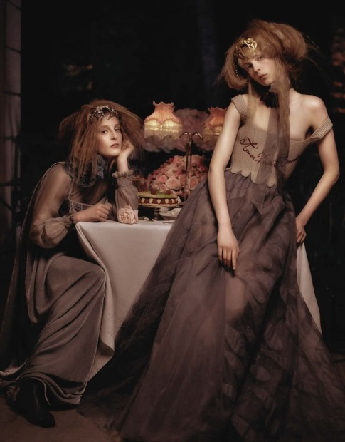 Edie Campbell Olympia Campbell Vogue Germany